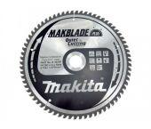 Makita B-08707 Makblade+ Cirkelzaagblad - 260 x 30 x 70T - Hout / MDF / Laminaat