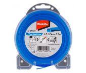 Makita E-01731 Maaidraad Four-Leaf Line blauw - 1,65mm - 15 meter