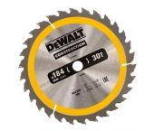 DeWalt DT1940 Extreme Cirkelzaagblad - 184 x 16 x 30T - Hout (Met nagels) - DT1940-QZ