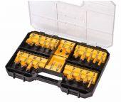 DeWalt DT90017 22-delige Frezenset in koffer - DT90017-QZ