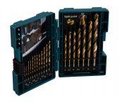 Makita D-67527 19-delige Metaalborenset in cassette - 1.5-10 mm
