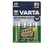 Varta Nikkelmetaalhybride Batterij - AA - 1,5V - HR6 (4st) - 56706101404