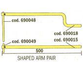 Telwin 830803156 Paar armen met elektrodes voor Modular 20/TI-230-400 - 500mm