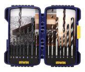 Irwin 10503993 15-delige Combi Borenset in cassette