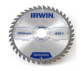 Irwin 1907698 Construction Cirkelzaagblad - 160 x 30 x 24T - Hout