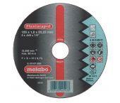 Metabo 616513000 Doorslijpschijf - 125 x 1,0 x 22,23 - Aluminium