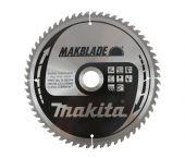 Makita B-09014 Cirkelzaagblad - 255 x 30 x 60T - Aluminium