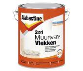Alabastine 5077771 2In1 Muurverf Vlekken - Wit - 5L
