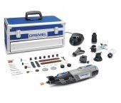 Dremel 8220 Platinum Editie 12V Li-Ion Multitool set (2x 2,0Ah accu) incl. 65 accessoires in koffer